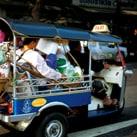 Thai experience in a Tuk Tuk
