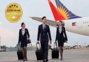 Philippine Airlines (PAL) has been certified as a 4-Star airline by Skytrax