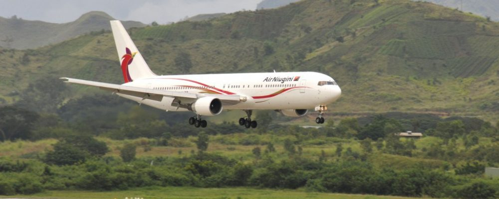 Fly with Air Niugini to Papua New Guinea