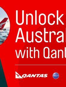 Unlock Australia with Qantas